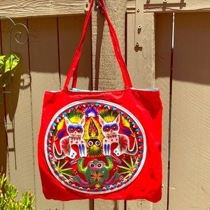 Vintage quirky bag hand made excellent condition